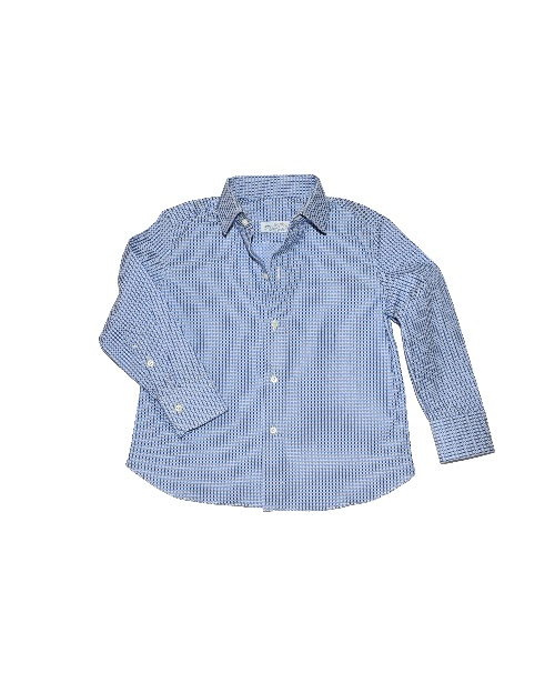 Camicia-Jacquard-Pois